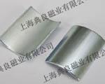 钕铁硼磁铁厂家生产的瓦形强力磁铁